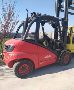 Stivuitor second-hand Linde H45D