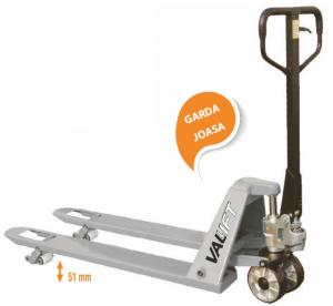 Transpalet manual garda joasa 51mm Vallift